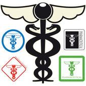 Medical simbolo — Vettoriale Stock