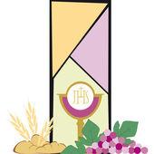 Symbolen van het christendom — Stockvector
