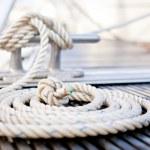 cuerda de amarre náutico — Foto de Stock