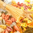 Different kinds of pasta - Stock Photo