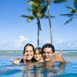 Stock Photo: family holiday