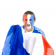 French Supporter — Stock Photo