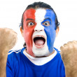 Happy French Supporter — Stock Photo #5826297