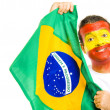 Spanish Brazilian — Stock Photo