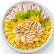 Ham and Cheese — Stock Photo