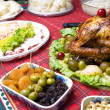 Turkey Dinner — Stock fotografie