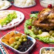 Turkey Dinner — Lizenzfreies Foto