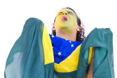 Brasilianische anhänger — Stockfoto