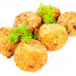 Codfish balls — Stock Photo