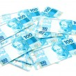New Brazilian Money — Stock Photo
