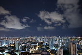 Salvador City at Night — Stock Photo