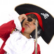 Pirate Listen Music - Stock Photo