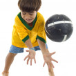 Young Brazilian Player — Stock Photo