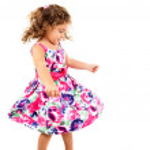 Child Dancing — Stock Photo
