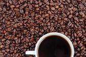 кофе фон — Стоковое фото