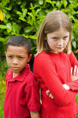 Children at Odds — Stock Photo