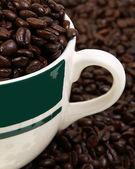Mug and Beans — Stock Photo