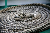 Rope in a Coil — Stock Photo