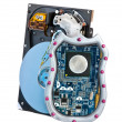 Hard Disk behind the shield — Stockfoto