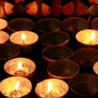 Religious candles — Stock Photo