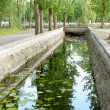 Stock Photo: Water channel