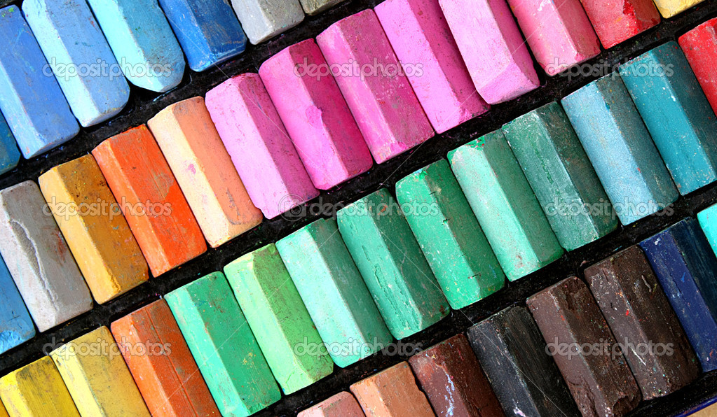 Color pastels — Stock fotografie #6338619