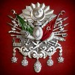 Emblem of Ottoman Empire - Foto Stock