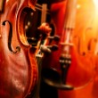 Close Up Violin Copy Space — Stock Photo #5714986
