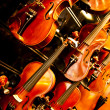 Stock Photo: Close Up Violin Copy Space