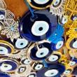 Evil Eye beads from Turkey — Stock Photo