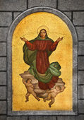 Virgin Mary Mosaic — Stock Photo