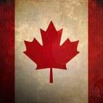 Grunge Canada Flag — Stock Photo