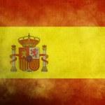 Grunge Spanish Flag — Stock Photo #5720532