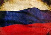 Grunge Russian Flag — Stock Photo