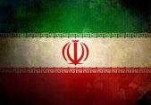 Grunge Iran Flag — Stock Photo