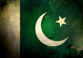 Grunge Pakistan Flag — Stock Photo