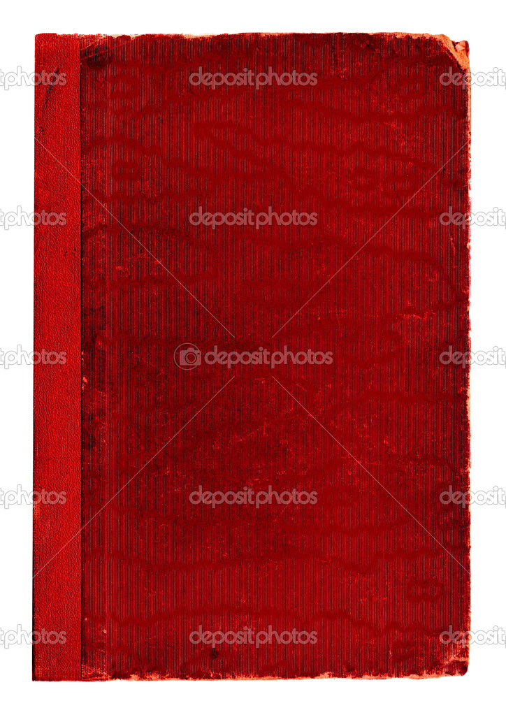 Old Red Book Cover ~ Red old book cover texture — stock photo enginkorkmaz