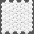 Stock Vector: Real Looking Hexagon texture