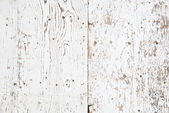 White painted old wooden texture — Stock Photo