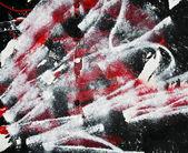 Boyalı ve toz boya duvar dokusu — Stok fotoğraf