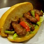 Meatball sandwich — Stock Photo