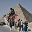 The Pyramids of Egypt - Foto Stock