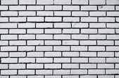 Kwadrat biały cegła mur tło — Zdjęcie stockowe