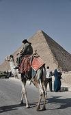 The Pyramids of Egypt — Stock Photo