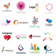 Corporate Design Elemenets — Imagen vectorial