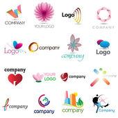 корпоративный дизайн elemenets — Cтоковый вектор