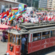 Parade of the world youth, Istanbul, Turkey — Stock Photo