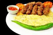 Turkish Kebab — Stock Photo