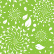 Royalty-Free Stock Vector Image: Green Floral Seamless Pattern