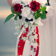 Bride Flowers — Stock Photo